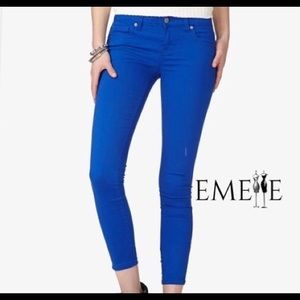 FOREVER 21 Women's Pants Skinny Ankle Zip Stretch